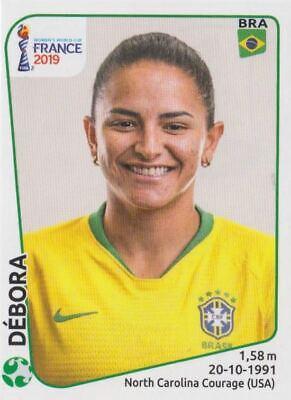 PANINI STICKER FRAUEN FU BALL WM 2019 NR 230 DEBORA BRA BRAZIL NEU BILD