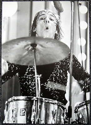THE WHO POSTER PAGE 1968 KEITH MOON