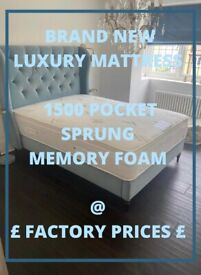 FREE DELIVERY NEW ALTON LUXURY MATTRESS TO YOUR DOOR - MADE IN UK 5 * QUALITY