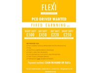 Minicab PCO DRIVER WANTED - FIXED EARNING PER WEEK (Free Company CAR + FUEL + INSURANCE)