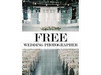 FREE - Wedding Photographer (Limited Spaces - Book Now)