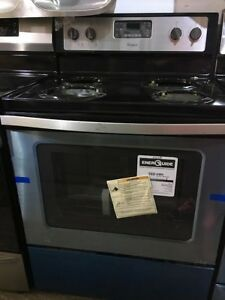 "30"" coil top stove $599 Whirlpool black"