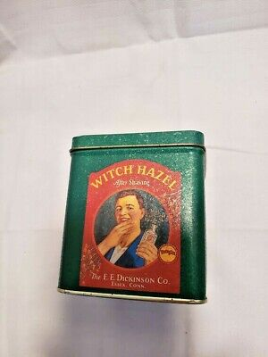 Vintage Dickinson's Essex Conn. Witch Hazel After Shave Tin Reproduction
