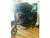 Phil and teds explorer double buggy pram pushchair stroller