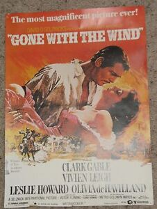 Gone With the Wind - 25th Anniversary VHS set and Poster Regina Regina Area image 2