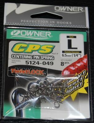 OWNER CENTERING PIN SPRING CPS Twistlock 5124-049 Large 8 pack 1/4