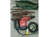Hilti hammer drill concrete breaker
