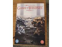 Game of Thrones Dvd's Seasons 1-7