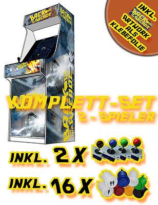Arcade Mame Videospielautomat Bausatz & Designfolien