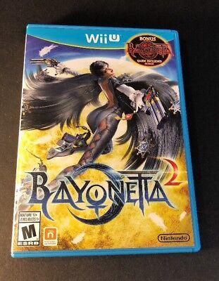 Bayonetta 2   Launch Bonus Edition W  Bayonetta Game Disc    Wii U  Used