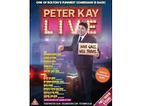 8 x Peter Kay tickets Newcastle