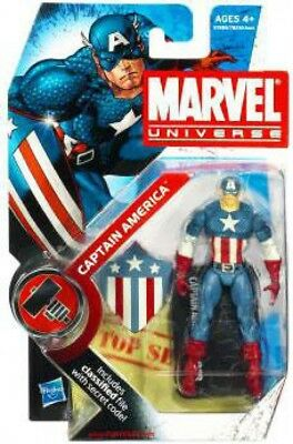 Marvel Universe Series 7 Captain America Action Figure #8 [Original - Original Captain America Costume
