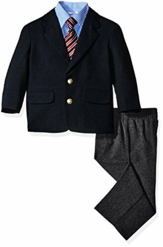 Nautica Childrens Apparel Baby Boys Solid Poplin Blazer and