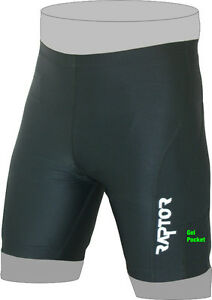 NEW-Raptor-Sports-Mens-Padded-Tri-Triathlon-Shorts-with-Gel-Pockets-XS-S-M-L-XL