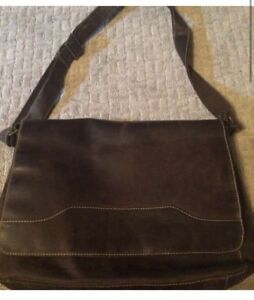 Danier Leather Messenger Bag