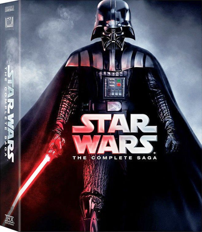 Star Wars: The Complete Saga (Episode 1-6, 12-Disc DVD) Box Set