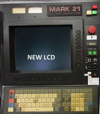 LCD monitor upgrade for 14-inch Sodick MARK 21 with Cable Kit for sale  Shipping to India