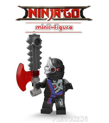 NINJAGO - NINDROID GENERAL CRYPTOR - fits lego figure (80)