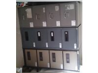 3 x 4-drawer metal filing cabinets - discount for all 3 - selling other items