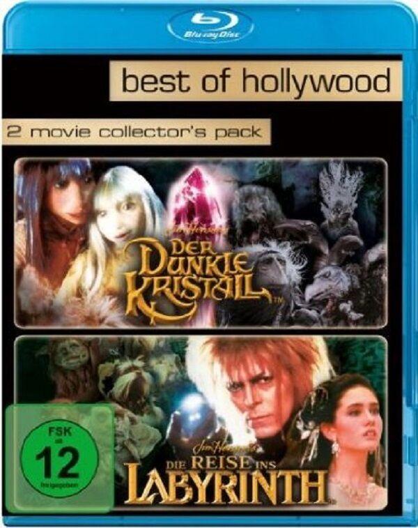Blu-ray * Der dunkle Kristall + Die Reise ins Labyrinth * NEU OVP * 2 Filme