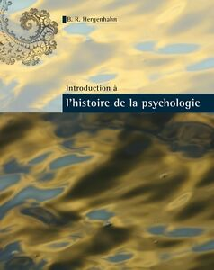 Introduction à l'histoire de la psychologie - 60,00$