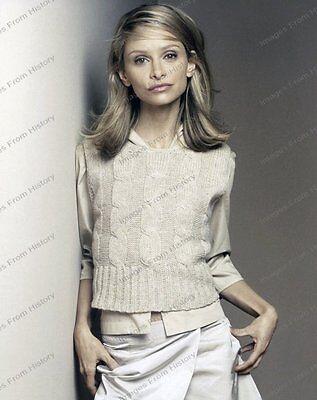 8x10 Print Beautiful Calista Flockhart Ali McBeal 1998 #CF33