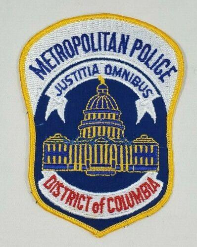 WASHINGTON D.C. DISTRICT OF COLUMBIA METROPOLITAN DC POLICE SHOULDER PATCH