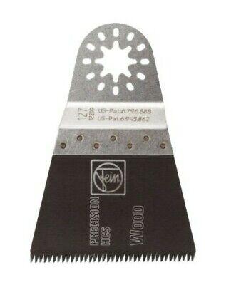 Genuine Oem Fein E-cut 127 Precision Wood Blade 2.5 For Multimaster Multi Tool