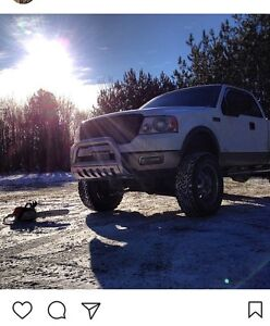 LIFTED 05 Ford F-150 Lariat