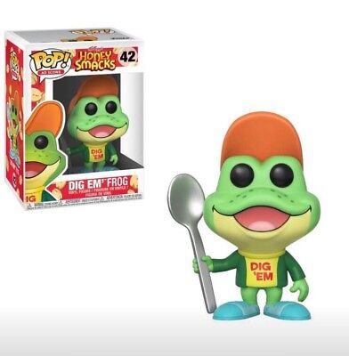 FUNKO POP! Dig Em� Frog Ad Icons Vinyl Figure Honey Smacks IN STOCK NOW
