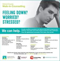 Oxford County Walk-In Counselling