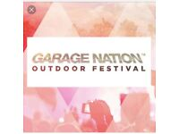 Garage nation tickets x4