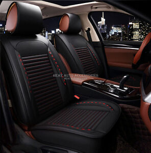 LEATHER CAR SEAT COVER PACK BEST FITTING WATERPROOFED QUALITY
