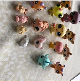 Littlest Pet figures.