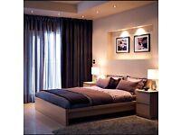 Ikea malm bed frame (beech)