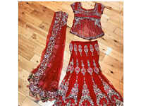 Very heavy bridal designer Lengha