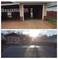 Start to finish demolition work! Free onsite evaluations