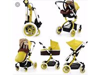 Cosatto Ooba Travel System Marzipan