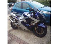 Suzuki hayabusa gsx1300r 19800 miles