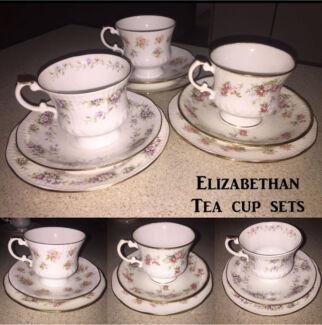 Fine China teacup sets