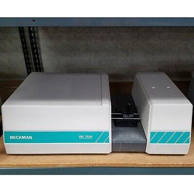 Beckman Du-7500 Diode Array Spectrophotometer