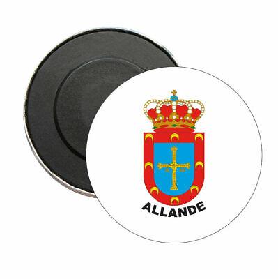 IMAN REDONDO ASTURIAS - ESCUDO CONCEJO ALLANDE