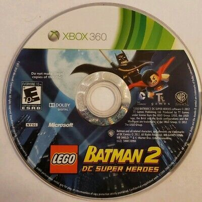 LEGO Batman 2: DC Super Heroes (Microsoft Xbox 360, 2012) Disc Only