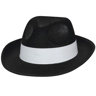 20s 1920s Jahre Gangster Kostüm Hut Langlebig Al Capone Mobster Hut Neu