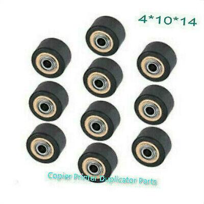10pcs Pinch Roller Fit For Mimaki Printer Vinyl Cutter Plotter 4x10x14mm