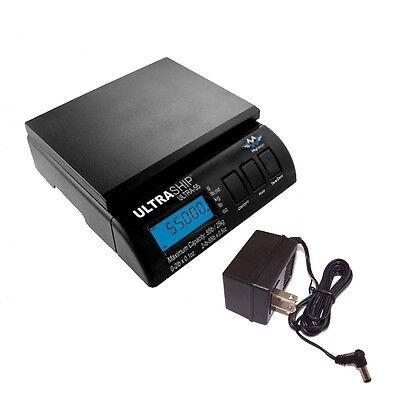 Postal Shipping Scale Myweigh Ultra Ship 55 With Ac Adapter 55lb X 0.1oz Black