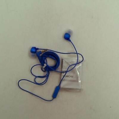 Sony MDREX15AP Fashion Color EX Series Earbud Headset with Mic covid 19 (Blue Earbud Headset coronavirus)
