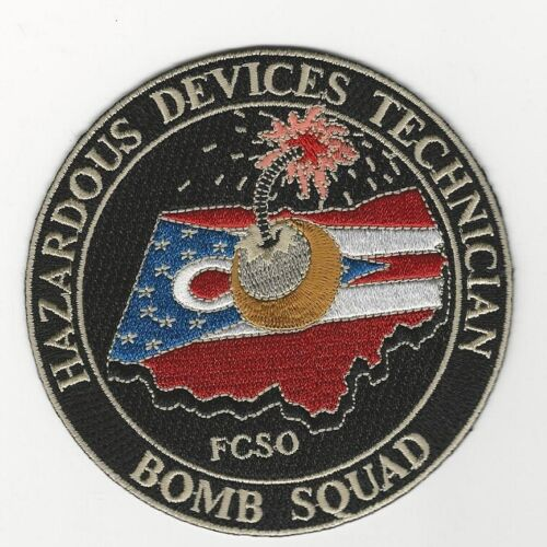 Bomb Squad EOD Franklin County Sheriff State Ohio OH