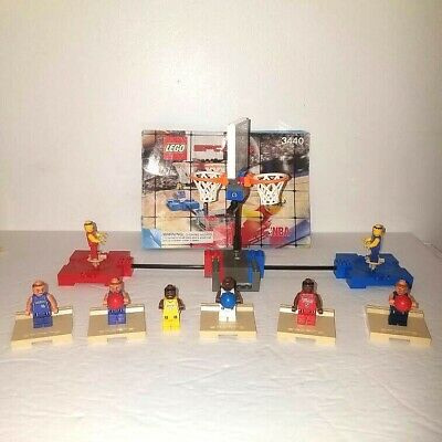 Lego Sports NBA 3440 3563 3566 Kobe Bryant Spring Leg Basketball Motor Hoop Lot