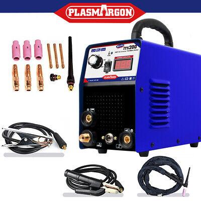 2 In 1tig Arc Welder Inverter Igbt Mma 200 Amp Dc Portable Machine - Uk Stock